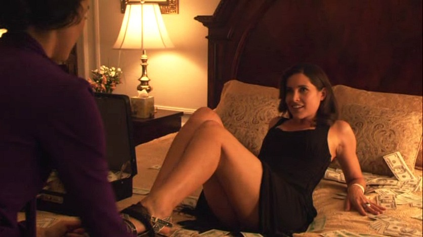 image Janina gavankar and pam grier lesbians sex in the l word