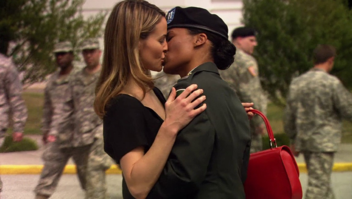 Leisha hailey and rose rollins the l word 1